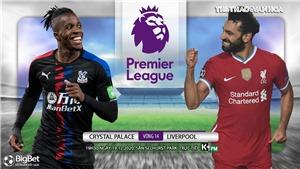 Soi kèo nhà cái Crystal Palace vs Liverpool.  Trực tiếp bóng đá vòng 14 Giải ngoại hạng Anh