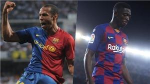 Barcelona: Dembele có thể cân bằng thành tích của Thierry Henry?