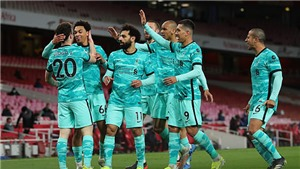 Arsenal 0-3 Liverpool: Jota tỏa sáng, Liverpool tiến gần Top 4