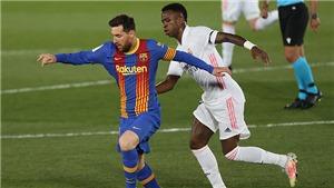 ĐIỂM NHẤN Real Madrid 2-1 Barcelona: Real phản công sắc bén. Messi thực sự cô đơn