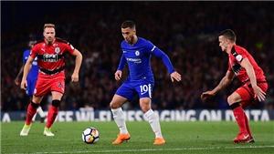 Video bàn thắng trận Chelsea 1-1 Huddersfield: Tiêu tan hy vọng Top 4