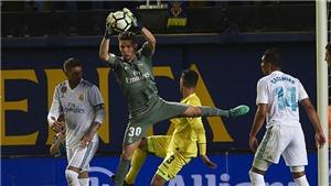 Con trai Zidane ra mắt trong khung gỗ, Real Madrid thua 2 bàn trong 15 phút