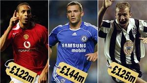 Shevchenko, Shearer, Ferdinand có giá bao nhiêu vào thời điểm này?