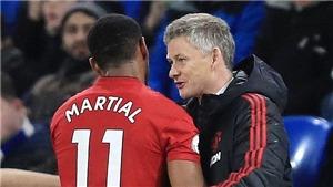CẬP NHẬT tối 30/12: HLV MU Solskjaer không hài lòng với Martial. Liverpool hủy diệt Arsenal, Pep lo lắng