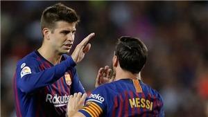 Pique tiết lộ Messi là 'kẻ chơi khăm', gọi Ibrahimovic là kẻ hám tiền