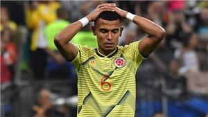 Hậu vệ Colombia thừa nhận bị dọa giết sau khi sút hỏng 11m trước Chile