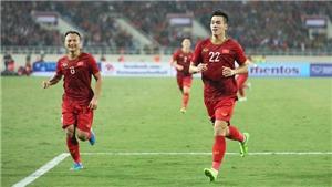 ĐT Việt Nam nhận 5,6 tỷ đồng tiền thưởng sau khi giành ngôi đầu bảng G