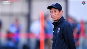 HLV Nishino: 'U23 Nhật Bản bị loại không ảnh hưởng tới mục tiêu của U23 Thái Lan'