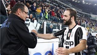 Higuain có thể hưởng lợi từ hệ thống của Sarri tại Chelsea