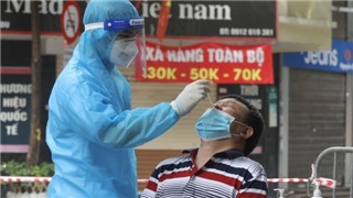 Hanoi's Covid-19 epidemic at noon on August 21: Recorded 21 new cases, many in the same family