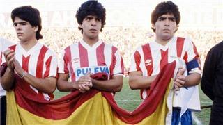 Ngày 3 anh em Maradona thi đấu cho Granada