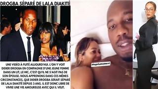 Didier Drogba lộ video giường chiếu