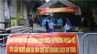 Covid-19 epidemic on the morning of August 22: Hanoi added 7 cases, including 3 at HH Linh Dam