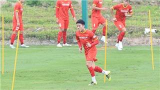 Xuan Truong set up a super free kick in a practice match against Vietnam U22