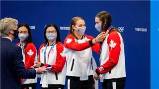 Olympic Tokyo: VĐV được tháo khẩu trang 30 giây để chụp ảnh