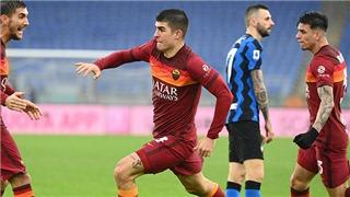 Roma 2-2 Inter: Inter bắt đầu hụt hơi