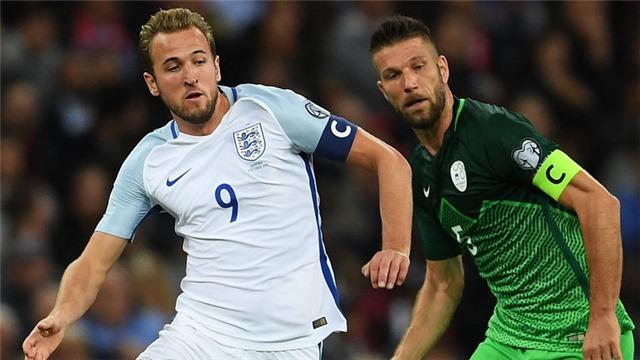 Video clip highlights bàn thắng trận Anh 1-0 Slovenia